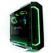 Calculator Powerup PROJECT 7 RGB Watercool AMD Ryzen 7 2700X 8Core 3.7-4.35Ghz 16 GB DDR4 SSD 512GB M.2 HDD 1TB ATI RX590 8GB GDDR5 256bit - NEW PC